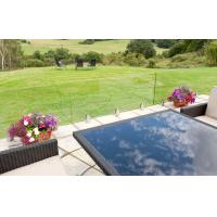 Buy cheap 10/12mm Tempered Glass Balustrade With Stainless Steel Spigot from wholesalers