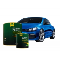 Buy cheap Clear Acrylic Blue Pearlescent Car Paint High Color Saturation from wholesalers