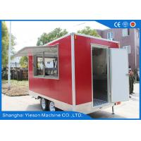 Buy cheap Yieson Custom Fast Food Truck Trailers Mobile Restaurant For Australia from wholesalers