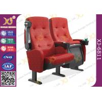Buy cheap Molded PU Foam Flame Retardant Theatre Seating Chairs Center Distance 580mm Rocker from wholesalers