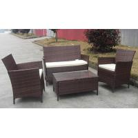 Buy cheap Commercial Discount Rattan Furniture Set , 4PCS KD Rattan Garden Sofa Sets from Wholesalers