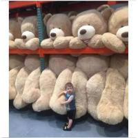 Buy cheap 80cm-340cm Giant Plush Skin American Bear Skin Toy White / Light Brown / Dark Brown Color from wholesalers