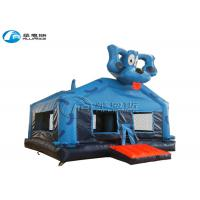Buy cheap Blue Dog Inflatable Bounce House Inflatable Kids Jumping Castle Customized Size from wholesalers