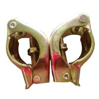 Buy cheap Corrosion Resistance Scaffolding Accessories Pressed Scaffolding Swivel Coupler JIS Standard from wholesalers
