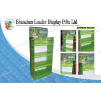 Buy cheap Point Of Sale Cardboard Display Shelf For Supermarket Promotion from wholesalers