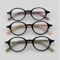 Buy cheap Retro Acetate Round Eyeglasses Frames, Custom Handmade Acetate Optical Frames product