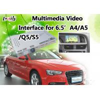 Buy cheap Audi Multimedia Interface Supports Rear View Camera , DVD , TV , DVR , Mirrorlink Optional product
