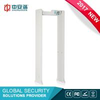 Buy cheap Portable Intelligent Security Walk Through Metal Detector Body Scanner For Airport from wholesalers