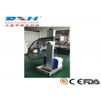 Buy cheap Serial Number Laser Engraving Machine , Barcode Laser Engraving Machine With Transport Tape from wholesalers