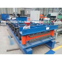 Buy cheap Roof / Roofing Sheet Roll Forming Machine 50Hz Wall Panel Roll Forming Equipment from wholesalers