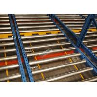 Buy cheap R - Mark Approval 15 Pallet Deep Flow Rack Shelving For Large Volume Homogeneous Goods from Wholesalers