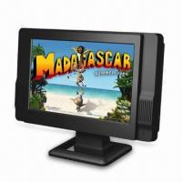 Buy cheap 9-inch TFT LCD Analog TV with AC/DC Adapter and Car Cord Adapter from wholesalers