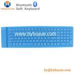 Buy cheap Bluetooth 109 Keys Wireless Silicon PC/ Tablet/Laptop/ Smartphone Soft Keyboard Waterproof from wholesalers