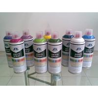 Buy cheap Non toxic Eco-friendly Artist Aerosol Spray Paint for Wood / Plastic / Metal Surface from wholesalers