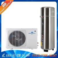 Buy cheap 55DegC Splinched 5kw Gas Cycle Domestic Air Heat Pump Water Heater 200-300L Pressure Tank from wholesalers