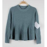 Buy cheap Elegent Womens Pullovers Sweaters Knitted Dress 100% acrylic Jacquard from wholesalers