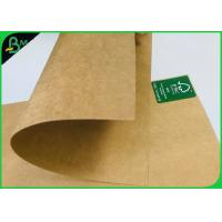 Buy cheap FDA Certified Brown Kraft Paper Board 250gsm 300gsm Food Container Paper Roll from wholesalers