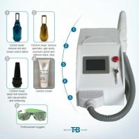 Buy cheap stronger   Pulsed Q Switch Nd Yag Laser Tattoo Removal equipment  3 Treatment Heads/white color/pigment  removeal from wholesalers