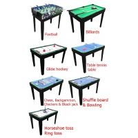 Buy cheap 12 In 1 Multi Purpose Game Table Multicolor Design Table Tennis Pool Table from wholesalers