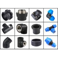 Buy cheap Hdpe pipe fittings dimensions equivalent length price list catalog installation from wholesalers