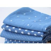 Buy cheap Elegant Japanese Printed Denim Fabric Shrink Resistant 16x16 Composition from wholesalers