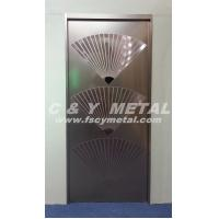 Buy cheap 201/304/316 Well design stainless steel elevator's door customized by C&Y METAL-20140329A from wholesalers