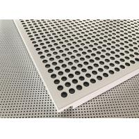 Buy cheap Akzo Nobel Powder Coated Matt White Finished Aluminium Suspended Ceiling Tiles from wholesalers