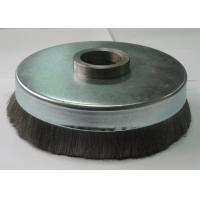 Engine Assembly Crimped Wire Cup Brush 150mm OD X 25mm Inner Hole For Deburring