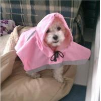 Buy cheap Pink Medium , XXL Dog raincoat with hood for small dogs Nylon dog coat from wholesalers