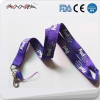 Buy cheap High Quality Polyester silk screen or heat press Custom Lanyards Id Card Holder from wholesalers