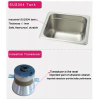 Buy cheap Stainless Steel Mini Dental Ultrasonic Cleaner For Orthodontic Appliances from wholesalers
