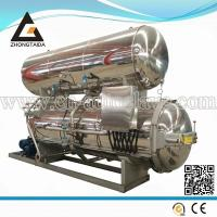 Buy cheap retort sterilizing autoclave machine for canned food processing from wholesalers