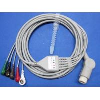Buy cheap TPU Mindray One - piece 5 - Lead ECG cable , Patient Monitor Accessories from wholesalers