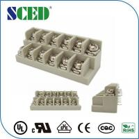Buy cheap Steel / M3 Screw  7.62mm Screw Terminal Block With Pins 300V 15A from Wholesalers