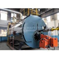 China Gas And Oil Dual Fuel Steam Boiler 0.7MW Hot Water Boiler Furnace Stainless Steel on sale
