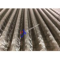 Buy cheap 48-30 Corrugated Plus Replacement Shaker Screen for Mud Separator Oilfield from wholesalers