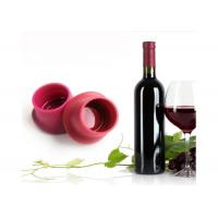 Buy cheap Anti Heat Silicone Household Products , Leak Proof Wine Bottle Cap 3 Pcs from wholesalers