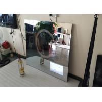 Rectangle Backlit Bath Mirror Tv , Mirror Finish Tv With Muliti Language