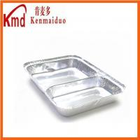 Buy cheap Airline Special Disposable 2-Section Food Aluminum Foil Container from wholesalers