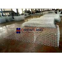 Buy cheap Embankment Stability Gabion Wire Baskets , Channel Linings Gabion Rock Cages from wholesalers