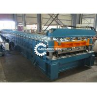 Buy cheap Mexico Profile Galvanized Sheet Floor Deck Roll Forming Machine 6-8m / Min Speed from wholesalers