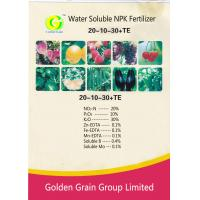 Water Soluble NPK Fertilizer 20-10-30+TE