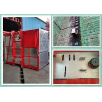 Buy cheap Heavy Duty 2 Tons Construction Site Elevator Equipment Goods Hoist 0-34m/Min Speed product