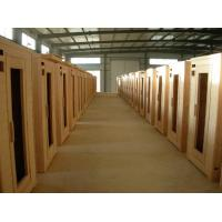 Buy cheap Natural Color Hot Tub Accessories Wooden Panels With Dry Steam Function from wholesalers