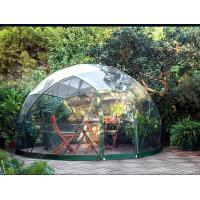 Buy cheap Customized Waterproof Windproof Movable Geodesic Dome Tent With Steel Frame from wholesalers