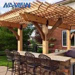 Buy cheap Backyard Arbor Pergola Patio Canopy 10x10 Pergola Shade Cover from wholesalers
