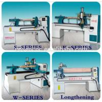 Buy cheap COSEN CNC  control system wood turning machine with centering set for wood, artificial stone, resin from wholesalers