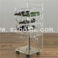 Buy cheap Acrylic Wine Rack product