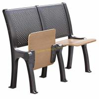 Buy cheap Steel Coated Stadium School Furniture Roll Up Chair Fixed Desk / Auditorium Seating from wholesalers