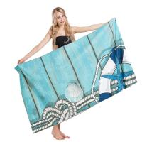 Buy cheap Microfiber Adult Beach Towels , Printed Beach Towels SGS Certified Full Sized from wholesalers
